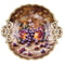 Royal Worcester Painted Fruit Gadroon Dish