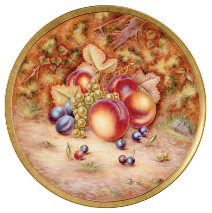 Royal Worcester Painted Fruit Round Platter 40cm