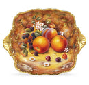Royal Worcester Painted Fruit Tudor Tray S/S 28cm