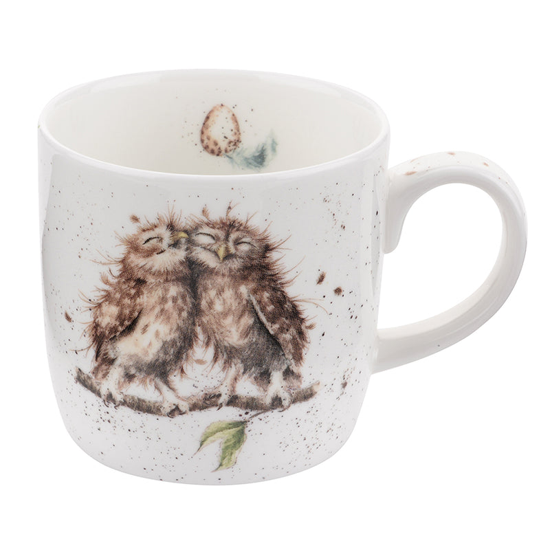 Royal Worcester Wrendale Designs Birds of a Feather Mug