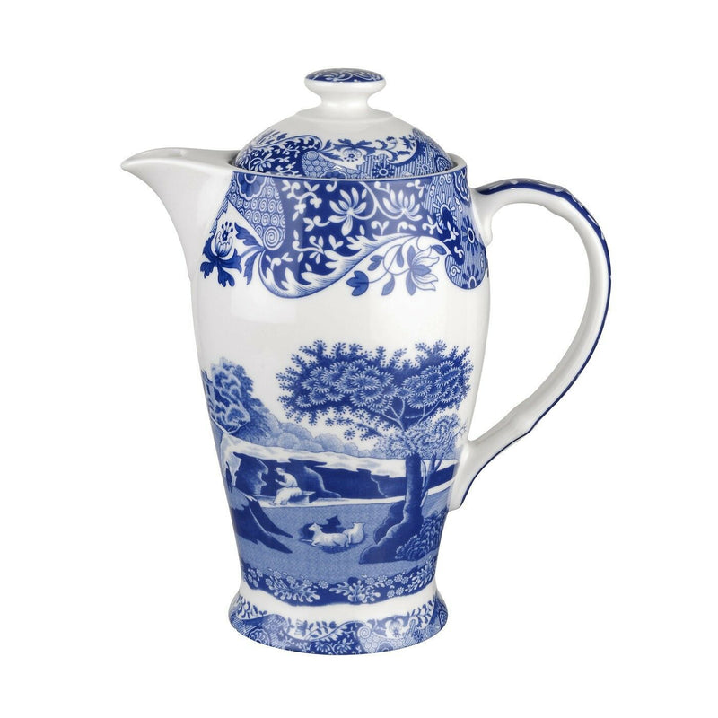 Spode Blue Italian 200th Anniversary Hot Beverage Pot