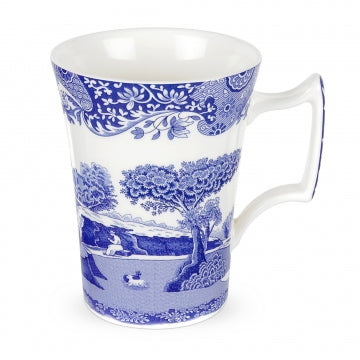 Spode Blue Italian Mug Cottage Shape 0.28L