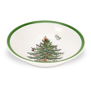 Spode Christmas Tree Cereal Bowl 20.5cm