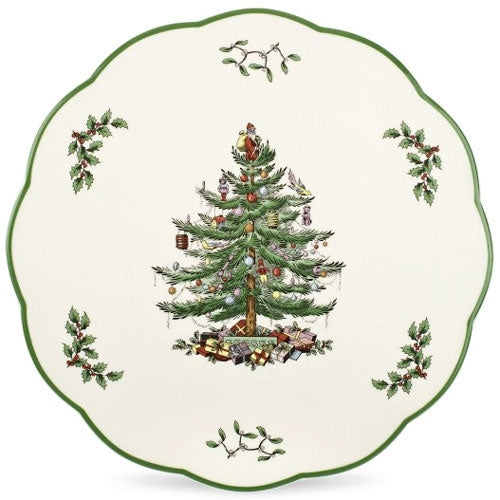 Spode Christmas Tree Cheese Board / Trivet