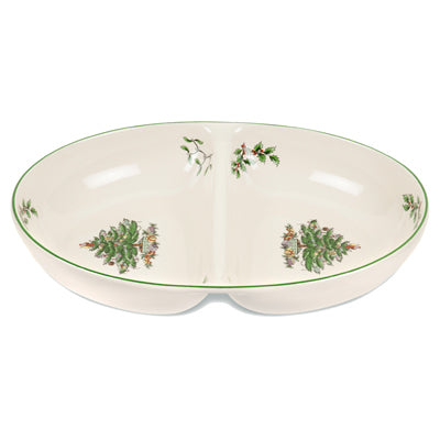 Spode Christmas Tree Divided Dish