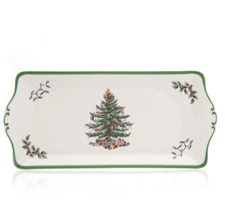 Spode Christmas Tree Sandwich Tray