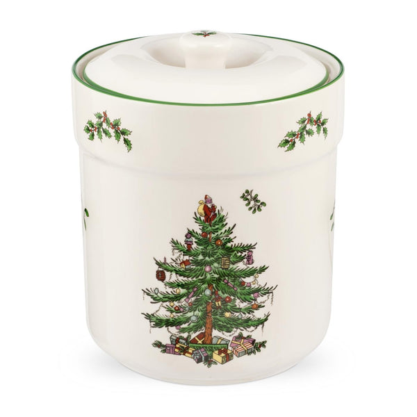 Spode Christmas Tree Sweet Jar 15cm