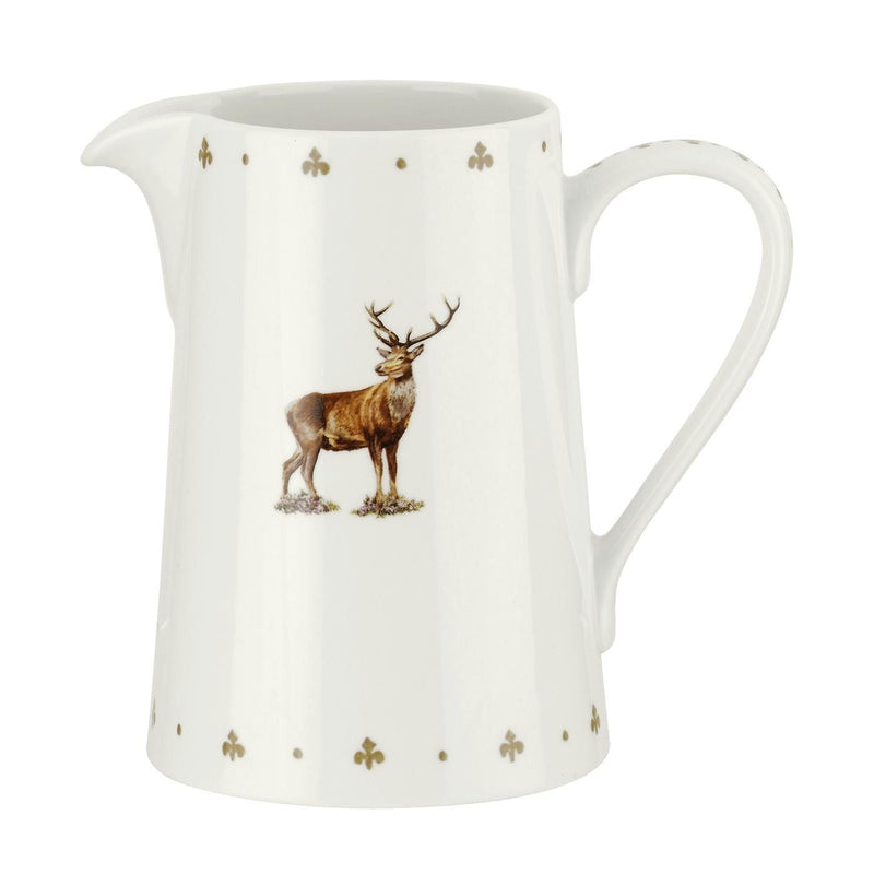 Spode Glen Lodge Stag Jug 0.85L
