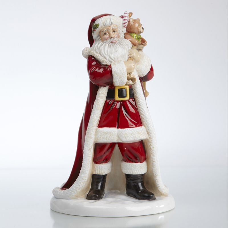 The English Ladies Co Father Christmas Figurine