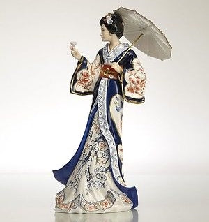 The English Ladies Co Lady Imari Figurine