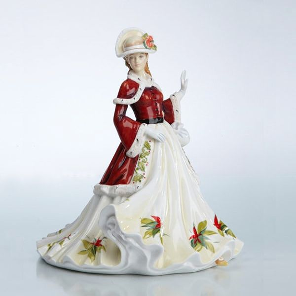 The English Ladies Co Seasons Greetings Figurine