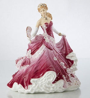 The English Ladies Co Sweet Romance Figurine
