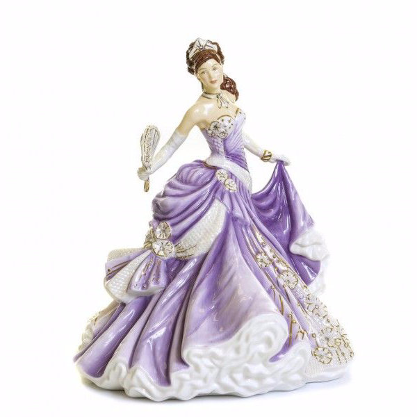 The English Ladies Co True Romance Figurine