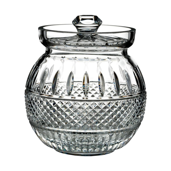 Waterford Crystal Irish Lace Biscuit Barrel
