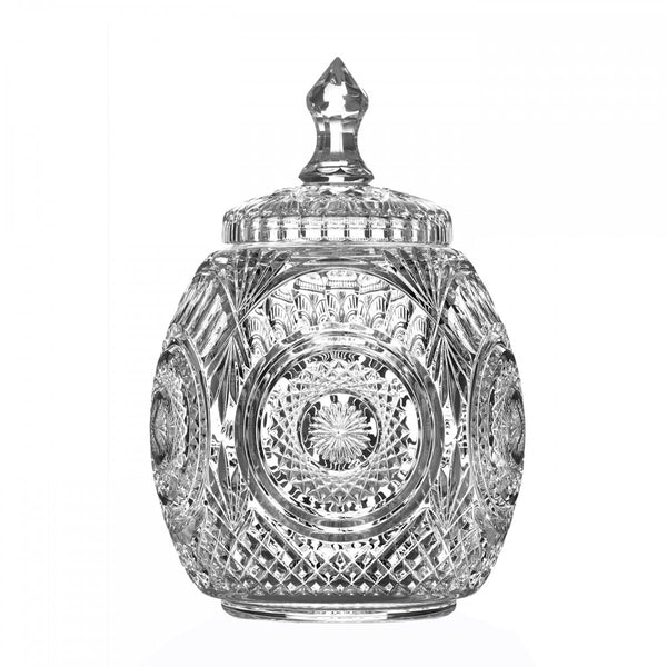 Waterford Crystal John Connolly 50th Anniversary Caroline Cookie Jar 33cm (Limited Edition of 150)