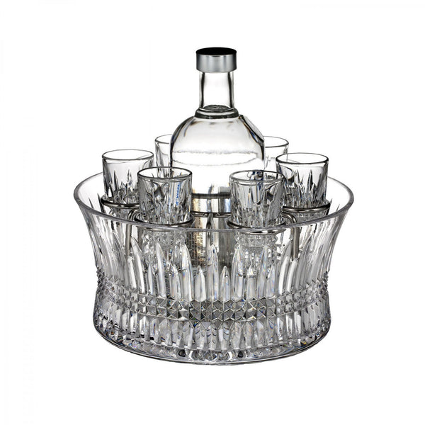 Waterford Crystal Lismore Diamond Vodka Set