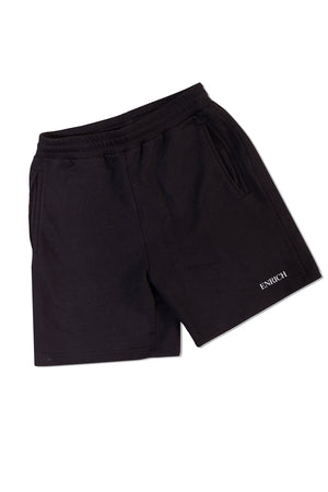 Black Shorts With Logo