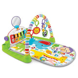 Fisher-Price Deluxe Kick and Play Piano Gym in Green