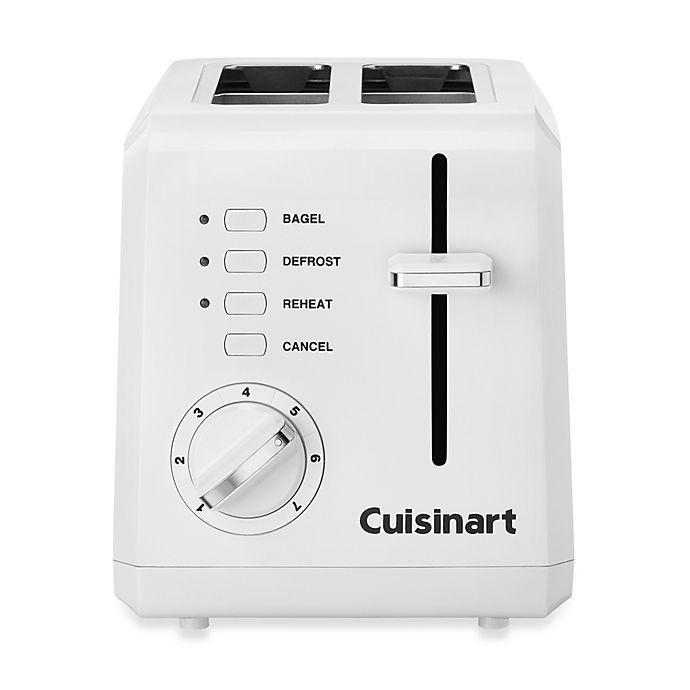 Cuisinart Compact 2-Slice Toaster in White