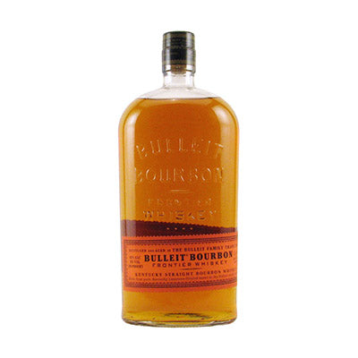 Bottle of Bulleit Bourbon.