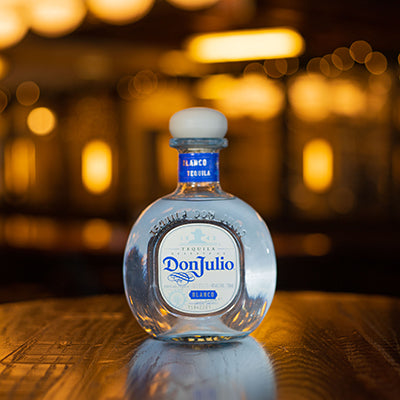 Bottle of Don Julio tequila.