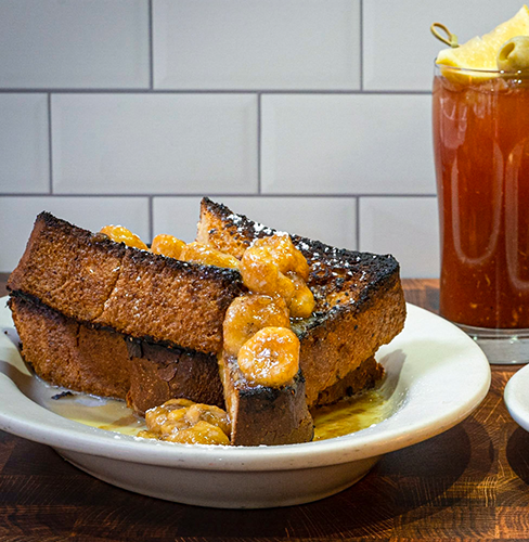 French Toast and Bloody Mary