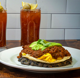 Ranchero Scramble and Bloody Mary