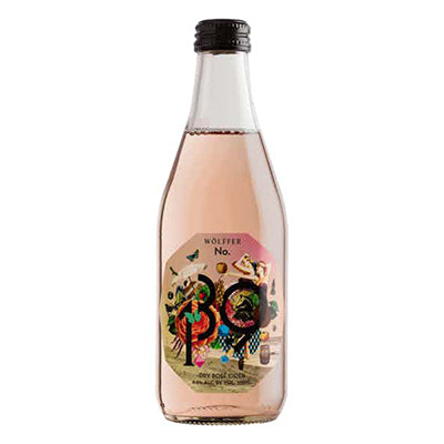 Wölffer Rosé Cider, 4 pack