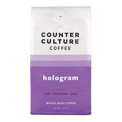 Bag of Counter Culture Hologram coffee.