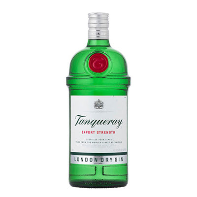 Bottle of Tanqueray Gin.