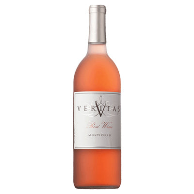 Bottle of rosé wine.