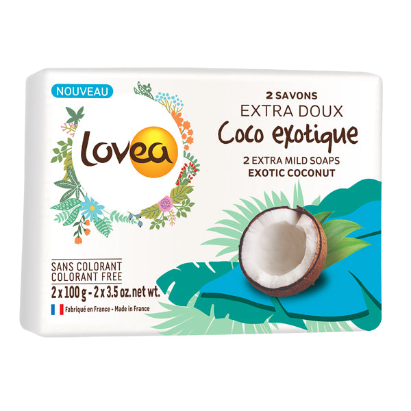 Extra-Mild Soap - Exotic Coconut