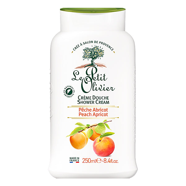 Peach and Apricot Shower Cream 250ml