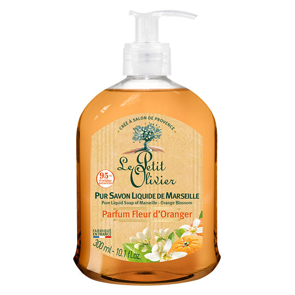 Pure Liquid Soap of Marseille - Orange Blossom
