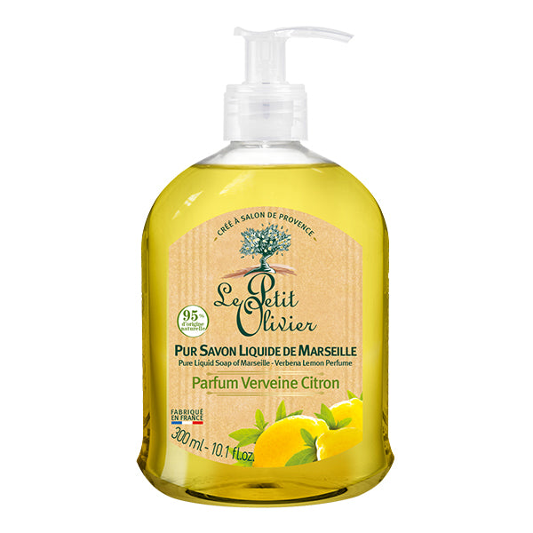 Pure Liquid Soap of Marseille - Verbena Lemon