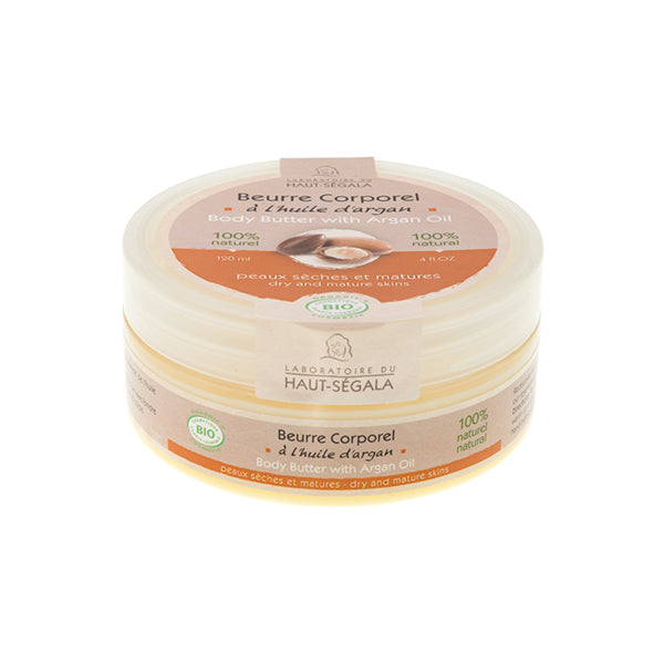 Organic Body Butter with Argan Oil