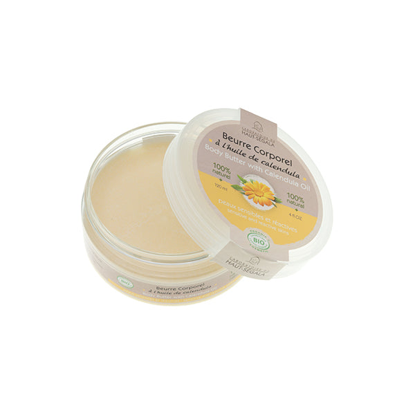 Organic Body Butter with Calendula Oil