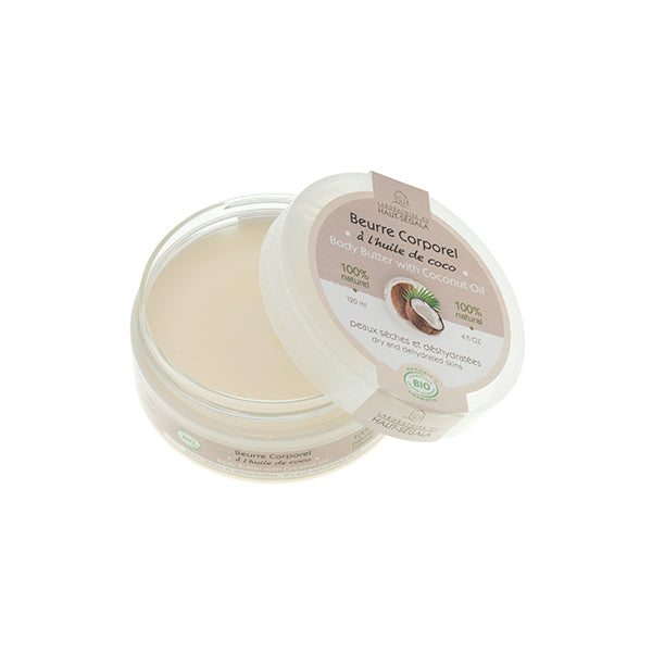 Organic Body Butter with Coconut Oil