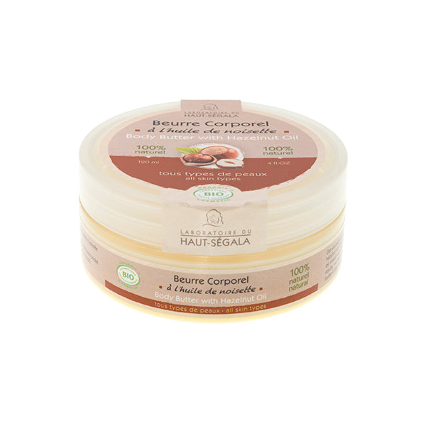Organic Body Butter with Hazelnut Oil