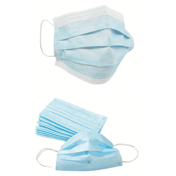 FDA Class 2 Disposable, Blue Medical Mask (50 Masks/Box)