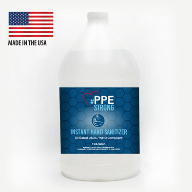 #PPE STRONG E3/WHO COMPLIANT INSTANT HAND SANITIZER