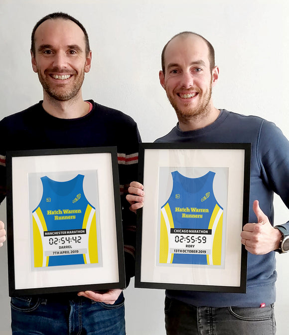 Rory and Darrel's Chicago and Manchester Marathons