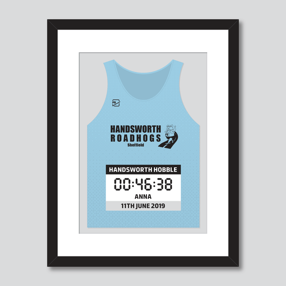 Handsworth Roadhogs Handsworth Hobble personal best vest print