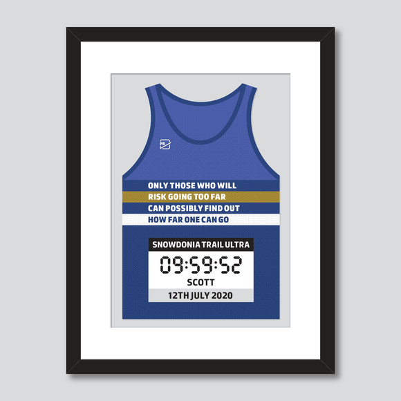 Inspirational quote personal best vest print