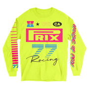 Max Velocity Long Sleeve Tee in Volt