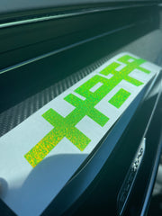 "8"" Neon Escape Logo Sticker"