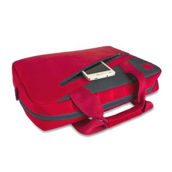 "Valigetta per Portatile NGS Ginger Red GINGERRED 15,6"" Rosso Antracite"