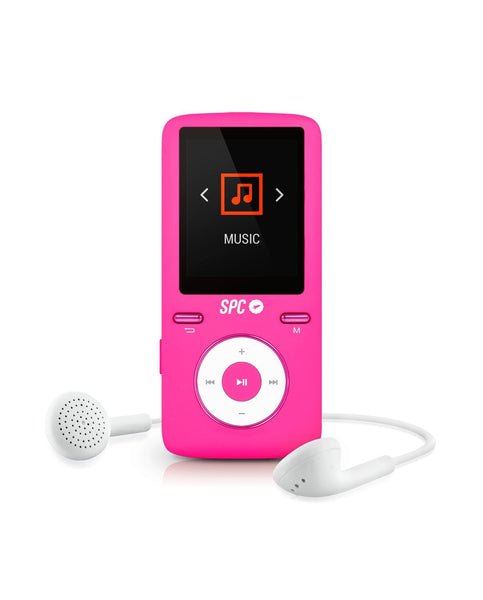 Riproduttore MP4 SPC Pure Sound Colour 2 Reproductor MP3/MP4 Rosado 8488P