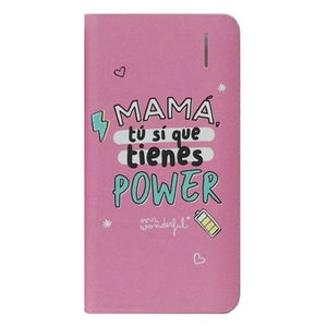 Power Bank Mr. Wonderful MRPWB031 4000 mAh Rosa