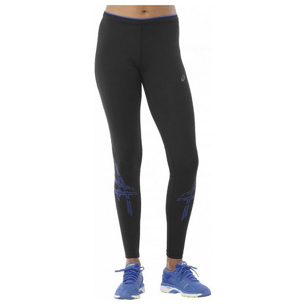 Leggings Sportivo da Donna Asics Asics Stripe Tight Nero